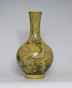 Large Famille Rose Vases