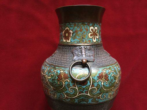 Antique Cloisonne Vase Elite Collectible